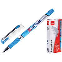 Ручка шариковая Cello Butterflow узел 0.7мм, чернила синие, грип 604 (комплект из 2 шт.)