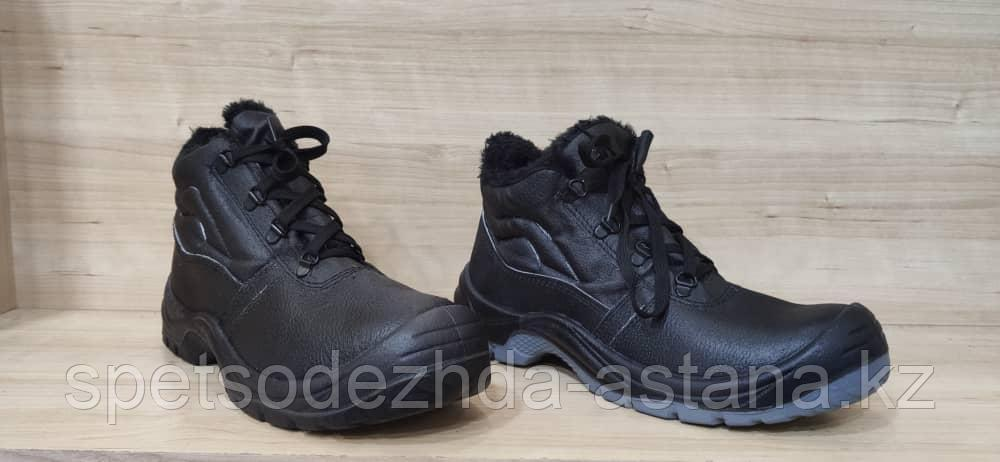 Спецобувь утепленные ботинки рабочие с металлическим подноском