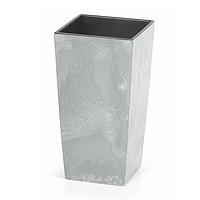 Горшок с внутренней вставкой Urbi Square Concrete DURS 400B   Prosperplast(Польша)