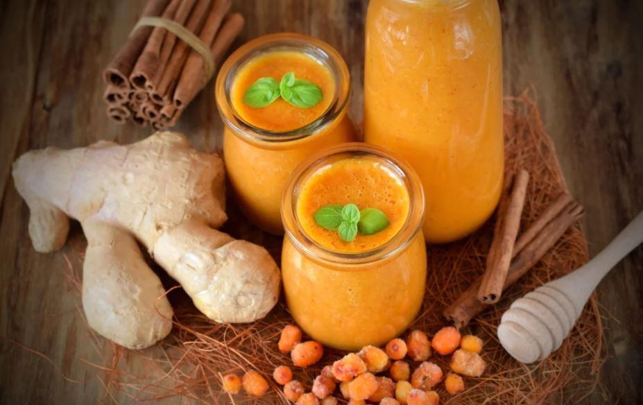 Натуральный облепиховый порошок для молочных и веганских ферментированных продуктов