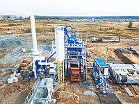 На берегу реки Синара в Челябинской области расположилось село Тюбук, а в нем расположился наш асфальтобетонный завод БМЗ-80!