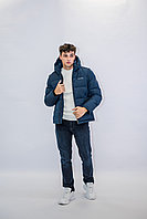 Зимняя мужская куртка Kings Wind темно-синяя