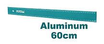 Линейка алюминиевая 60см TOTAL арт.TMT636002