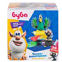 Пластилин Genio Kids Тесто-пластилин 20 шт. Лепим с Бубой