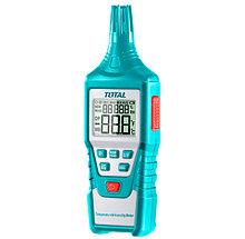 Измеритель влажности и температуры (Термогигрометр) TOTAL арт.TETHT01