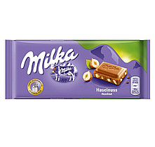 Milka Whole Hazelnut цельный орех (100 грамм)  (17 шт. в упаковке)