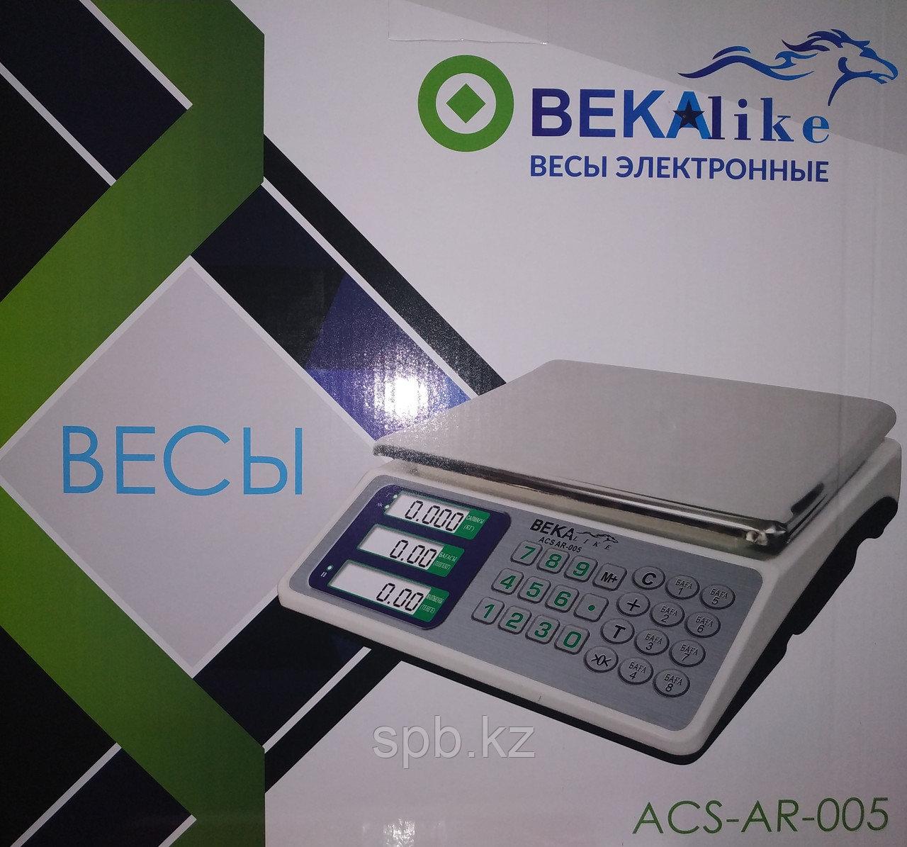 Настольные торговые электронные весы BEKA ACS-AR-005 35 кг