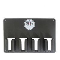 Подставка-держатель настенный для хранения парикмахерских инструментов (4 ячейки)