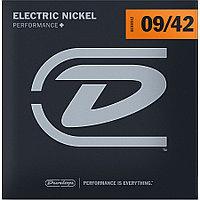 Комплект струн для электрогитары, никелированные, 09-42, Dunlop DEN0942