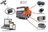 """GPS """"ЖПС"""" мониторинг и контроль топлива на самосвалах HOWO"""