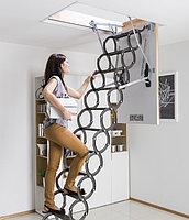Металлическая чердачная ножничная лестница FAKRO LST 60*90*280 Факро тел./Whats Upp.+7-707-5705151
