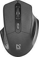 Мышь беспроводная Defender Datum MB-345 черный,4 кнопки, 800-1600 dpi