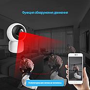Беспроводная поворотная Wi-Fi IP камера 2 МП, фото 5