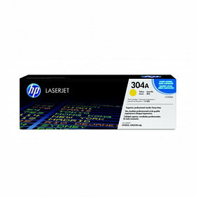 Картридж лазерный HP желтый CC532A