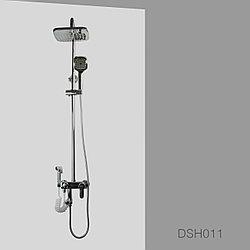 """Душевая стойка """"Грелайн"""" 3 в 1 с гигиенической лейкой хром DSH011"""