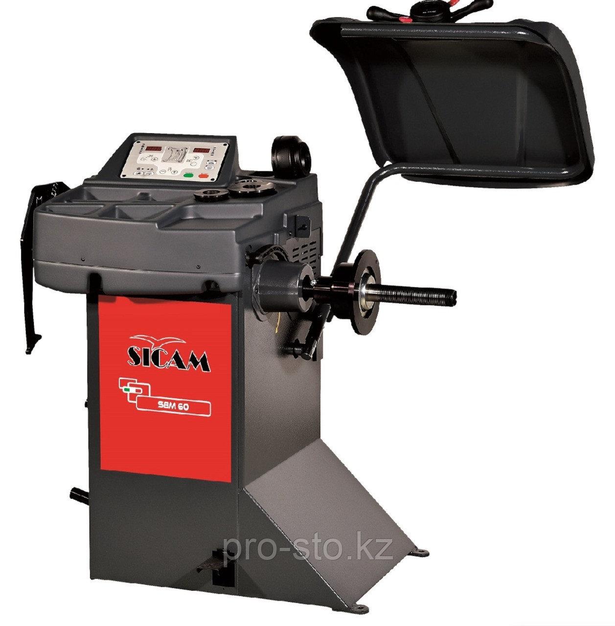 Балансировочный стенд с ручным вводом параметров Sicam арт. SBM60 (Италия)