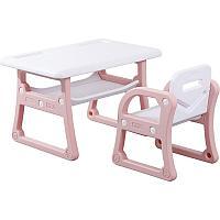 Детский стол и стульчик Yasmei розовый