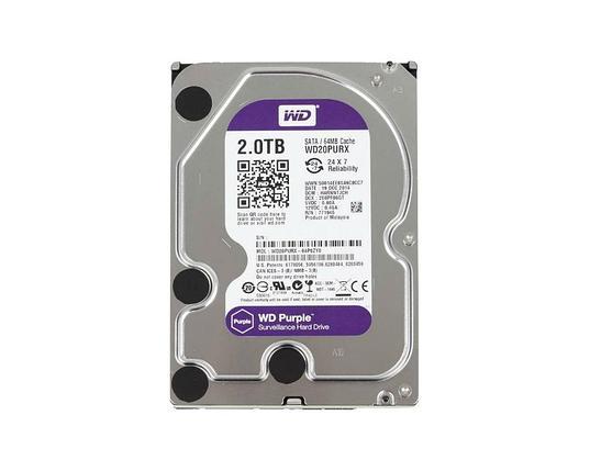 Жёсткий диск 2Tb Western Digital WD20PURX, фото 2