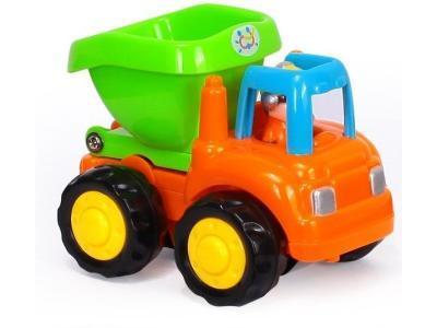 Развивающая игрушка HuiLe Мой первый грузовичок оранжевый
