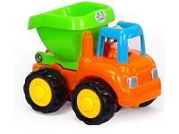 Развивающая игрушка HuiLe Мой первый грузовичок оранжевый, фото 1