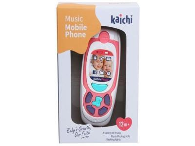 Развивающая игрушка Kaichi Телефон K999-72G розовый