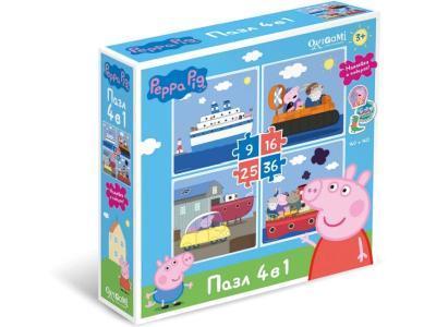 Развивающая игрушка Origami Свинка Пеппа 04279 36 элементов