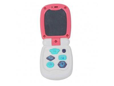 Развивающая игрушка Pituso Музыкальный телефон K999-95G розовый