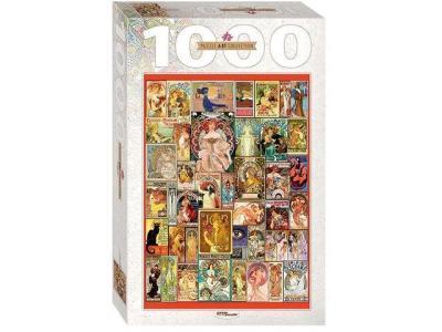 Развивающая игрушка Step Puzzle Art Nouveau Art Collection 1000 элементов