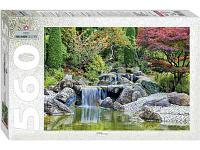Развивающая игрушка Step Puzzle Каскадный водопад в японском саду 560 эл