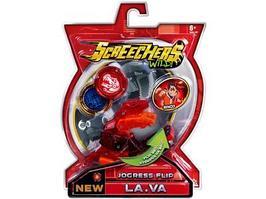 Игрушечный трансформер Screechers Wild 37755 Машинка-трансформер Ла.Ва л5