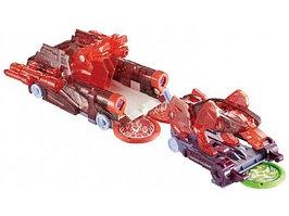 Игрушечный трансформер Screechers Wild 37761 Турбо-Скричер 2 в 1 Церберус