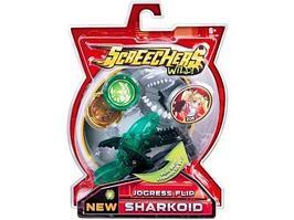 Игрушечный трансформер Screechers Wild Машинка-трансформер Шаркоид л5