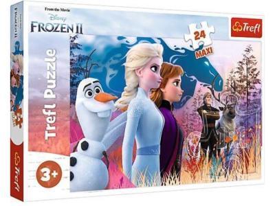 Развивающая игрушка Trefl 14298 Frozen Волшебное путешествие 24