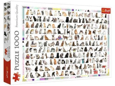 Развивающая игрушка Trefl 208 кошек 1000