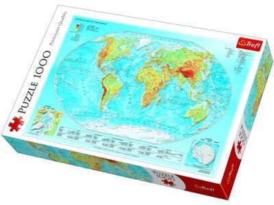 Развивающая игрушка Trefl Карта Мира 1000