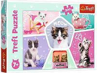 Развивающая игрушка TREFL Кошачьи шалости 200 деталей