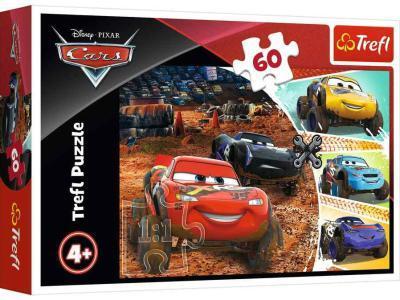 Развивающая игрушка Trefl Пазл Cars Молния Маккуин с друзьями 60 дет