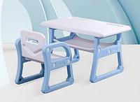 Детский стол и стульчик Yasmei голубой