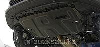 Защита картера двигателя и кпп на Porsche Cayenne/Порше Кайен, фото 1
