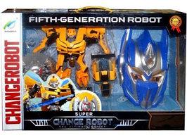 Игрушечный трансформер Changerobot Робот-трансформер + маска