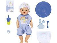 Кукла Zapf Creation My Little BABY born Нежное прикосновение Мальчик 36 см, фото 1