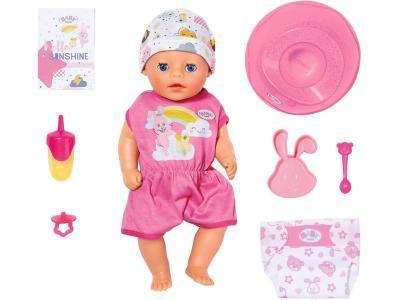Кукла Zapf Creation My Little BABY born Нежное прикосновение Девочка 36 см