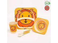 Посуда Крошка Я 4167335 Лев 5 предметов, фото 1
