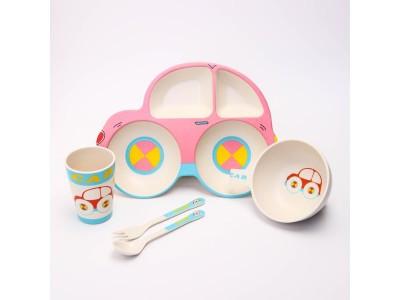 Посуда Крошка Я Набор детской посуды «Машинка» 4167341