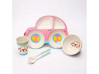 Посуда Крошка Я Набор детской посуды «Машинка» 4167341, фото 1