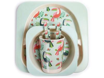 Посуда Крошка Я Набор детской посуды «Тукан» 4482564