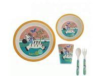 Посуда Приятного аппетита Зебра 5 предметов, фото 1