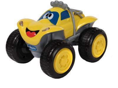 Радиоуправляемая игрушка Chicco Билли большие колеса желтый