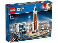 Конструктор LEGO City 60228 Ракета для запуска в далекий космос и пульт управления запуском