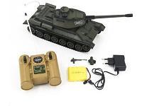 Радиоуправляемая игрушка ZEGAN Танк со светом и звуком 99809